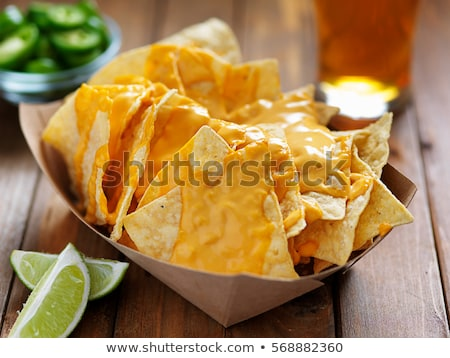 ejotes · tomate · salsa · alimentos · cocina · bar - foto stock © dash