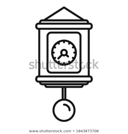 Metronome with Pendulum in Motion, Science Vector Stock photo © robuart