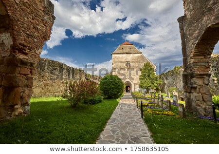 Cistercian monks in Carta Stock photo © grafvision
