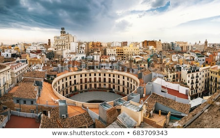 valencia cathedral spain stock photo © borisb17