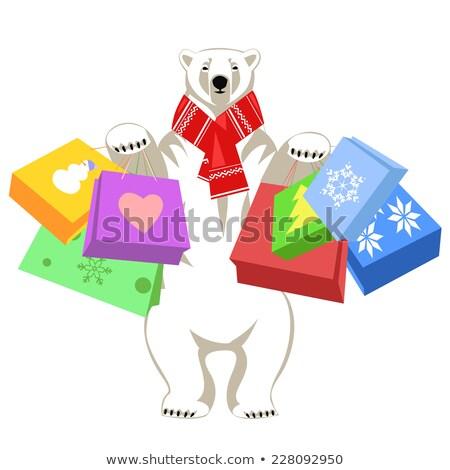 レトロな 極地の 家族 プレゼント ストックフォト © balasoiu