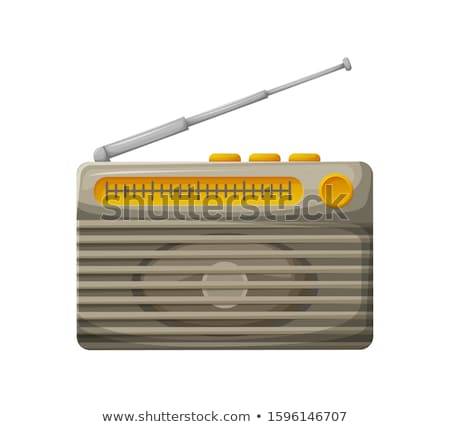 Attribution meilleur radio gare argent or Photo stock © robuart