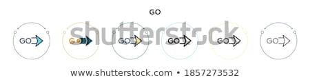 Login na zewnątrz przyciski puszka używany Zdjęcia stock © kyryloff