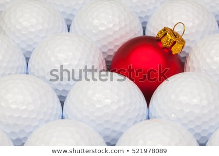 Texto golfe dourado bola golfball ouro Foto stock © magraphics