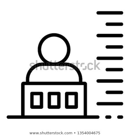 Criminal bandido foto icono ilustración Foto stock © pikepicture