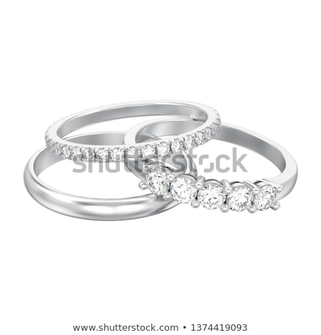 ダイヤモンド · ソフト · 影 · レンダリング · 高い - ストックフォト © oneo