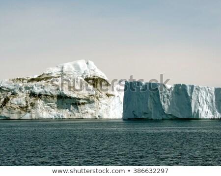 風景 自然 氷 パノラマ バナー ストックフォト © Maridav