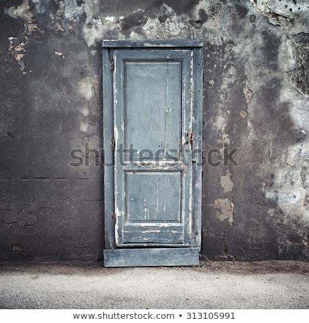 Çin · kapı · simge · bağbozumu · stil · ev - stok fotoğraf © stoonn
