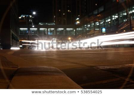шоссе знак зеленый Миннесота США облаке улице Сток-фото © kbuntu