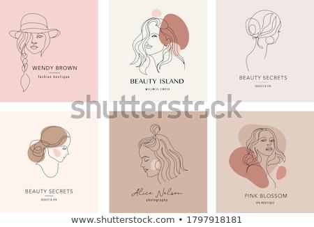 jóvenes · dama · bastante · mujer · mirando - foto stock © JamiRae