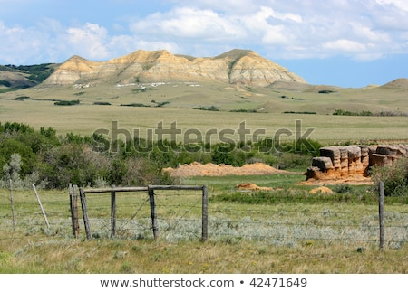 Eastend Saskatchewan Stock photo © SimpleFoto