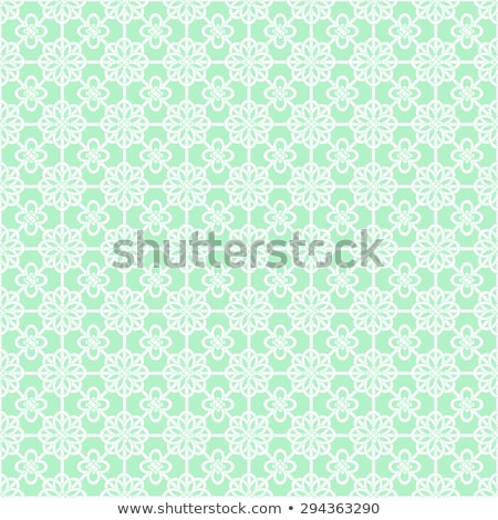 Stock photo: Mint celtic knot