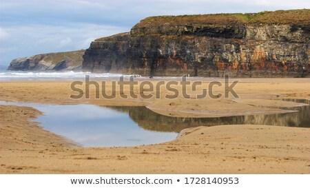 ballybunion coast reflection Stock photo © morrbyte
