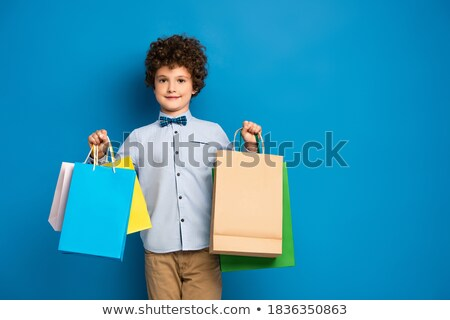 boy in shop stock photo © paha_l