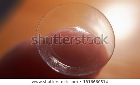 контактная линза пальца наконечник оптический студию Сток-фото © prill