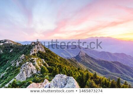 Montagne France pierre Photo stock © arocas