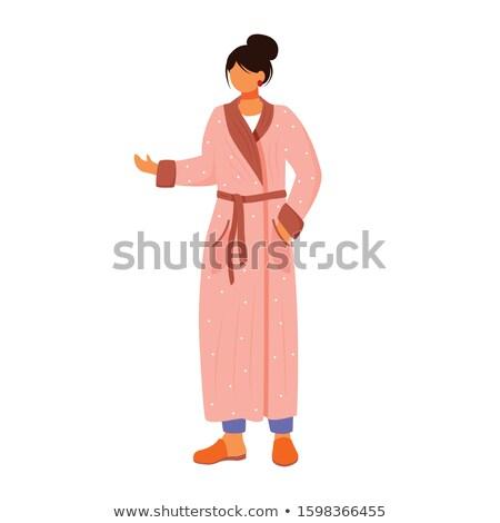 Mulher noite robe menina mão Foto stock © photography33
