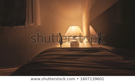 Ambient light in a dark room Stock photo © cnapsys