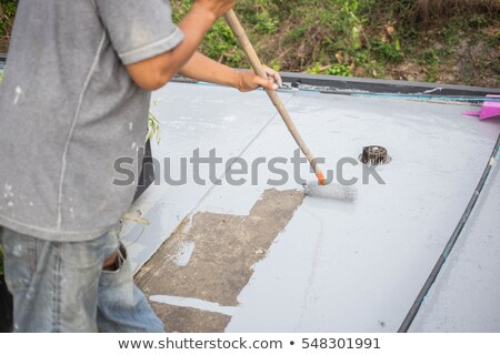 Man painting the floor Stock photo © photography33