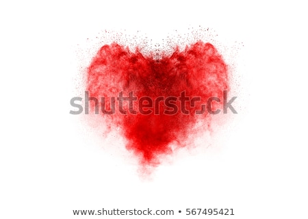 abstract heart explode template Stock photo © pathakdesigner