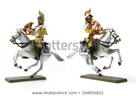 Dois capacete cavaleiro feira atuação agir Foto stock © photography33
