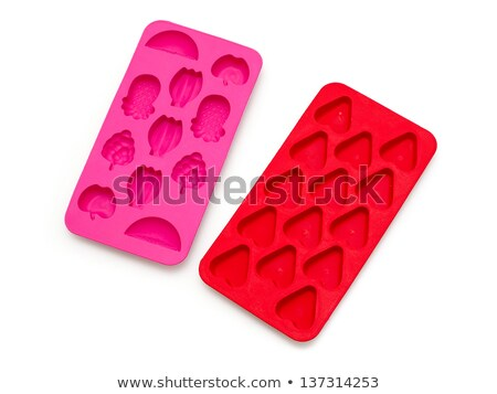 figures from ice cubes isolated stock photo © givaga