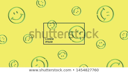 Abstract acid colored business symbol  Stock photo © MONARX3D
