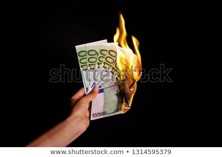 Burn euro. Stock photo © asturianu