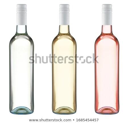 Tornillo botella basura CAP residuos Foto stock © ajt