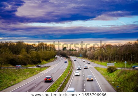 Dual carriageway Stock photo © trgowanlock