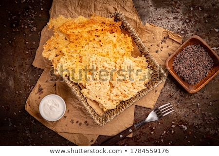 cheese crackers stock photo © kitch