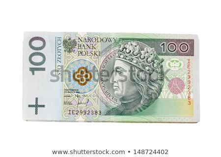 pack of polish zloty bills isolated stock photo © kuligssen