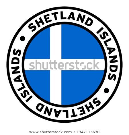 shetland flag Stock photo © tony4urban