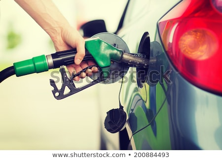 Stock photo: gas into the car