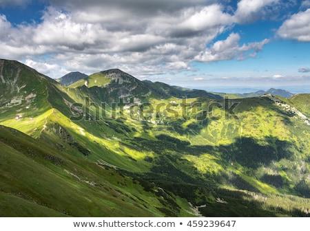 западной Словакия пейзаж путешествия гор облаке Сток-фото © phbcz
