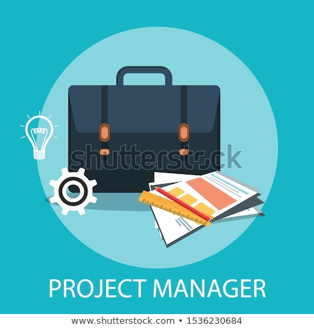 Dienst beheer business groene pijl leuze Stockfoto © tashatuvango