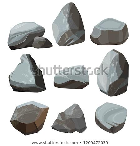 Hard granite gravel Stock photo © Anterovium