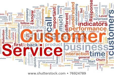 Customer Response. Wordcloud Concept. Stock photo © tashatuvango