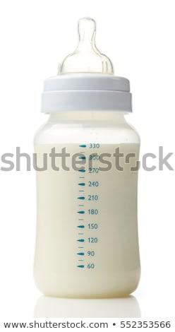 baby milk bottle isolated on white Stock photo © tetkoren