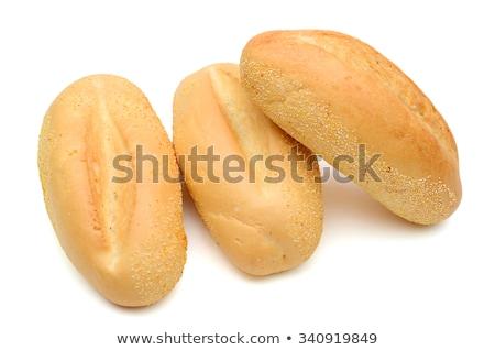 ストックフォト: 新鮮な · 孤立した · 白 · 小麦