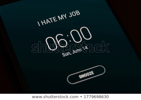 alarm clock and smartphone Stock photo © jirkaejc