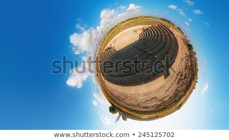 Ancient Odeon. Paphos. Cyprus. Little planet Stock photo © Kirill_M
