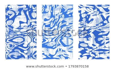 Colorful water ripples in the sea. Abstract hd background  Stock photo © photocreo