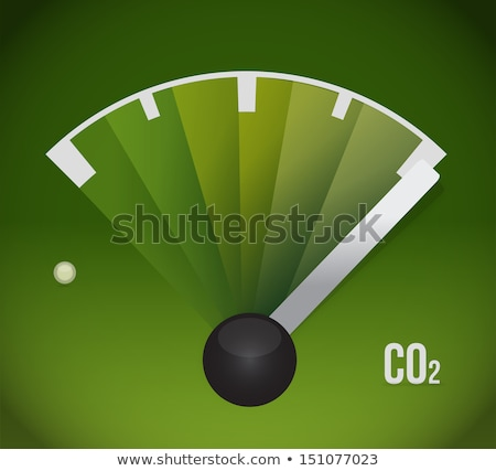 Co2 gas tank. eco friendly illustration Stock photo © alexmillos