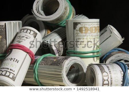 Dollars rolled into a tube Stock photo © Valeriy