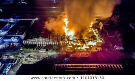 Industrial fire Stock photo © pressmaster