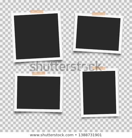 Photo Frame Collection Adhesive Tape Stock photo © NiroDesign