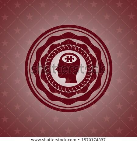 гарантировать текста красный белый 3d визуализации время Сток-фото © tashatuvango
