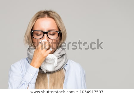 Cold And Flu Symptoms Stock photo © Lightsource