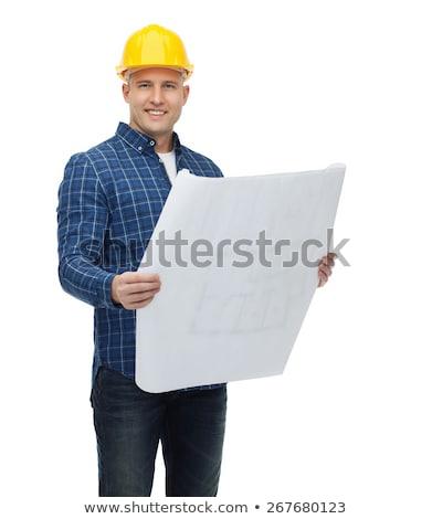 Utrzymanie plan narzędzi przemysłowych projektu 3d ilustracji Zdjęcia stock © tashatuvango